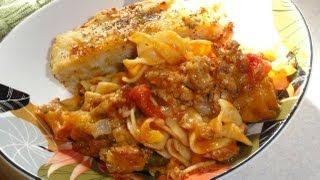 (not My) Grandma's Hot Dish / Pasta Bake