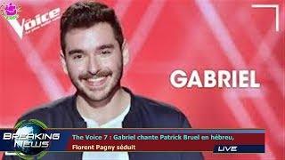 The Voice 7 : Gabriel chante Patrick Bruel en hébreu,  Florent Pagny séduit