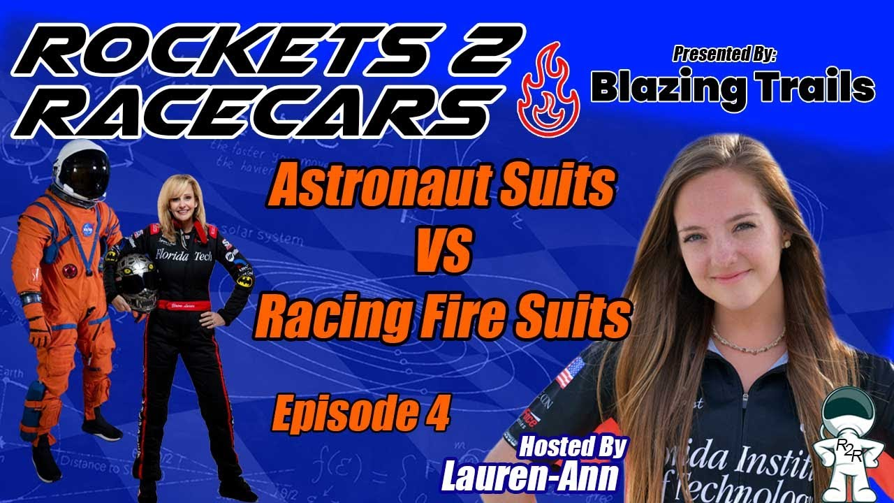 Episode 4: Astronaut Suits vs Racing Fire Suits
