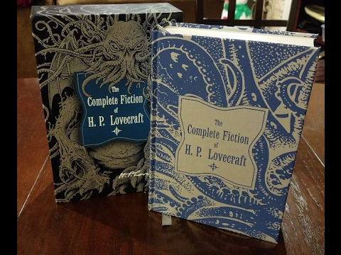 The Complete Fiction Of H P Lovecraft Youtube
