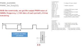 PIC PROGRAMMING WITH MIKROC   COURSE-6 PWM (PULSE WIDTH MODULATION) USE