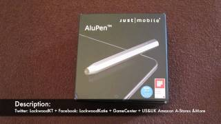 Just Mobile AluPen for iPad, iPhone & iPod Touch Review!