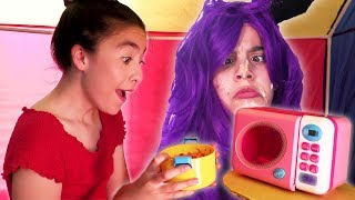 Princess Pretend Microwave Catastrophe 🔥Princesses In Real Life | Kiddyzuzaa