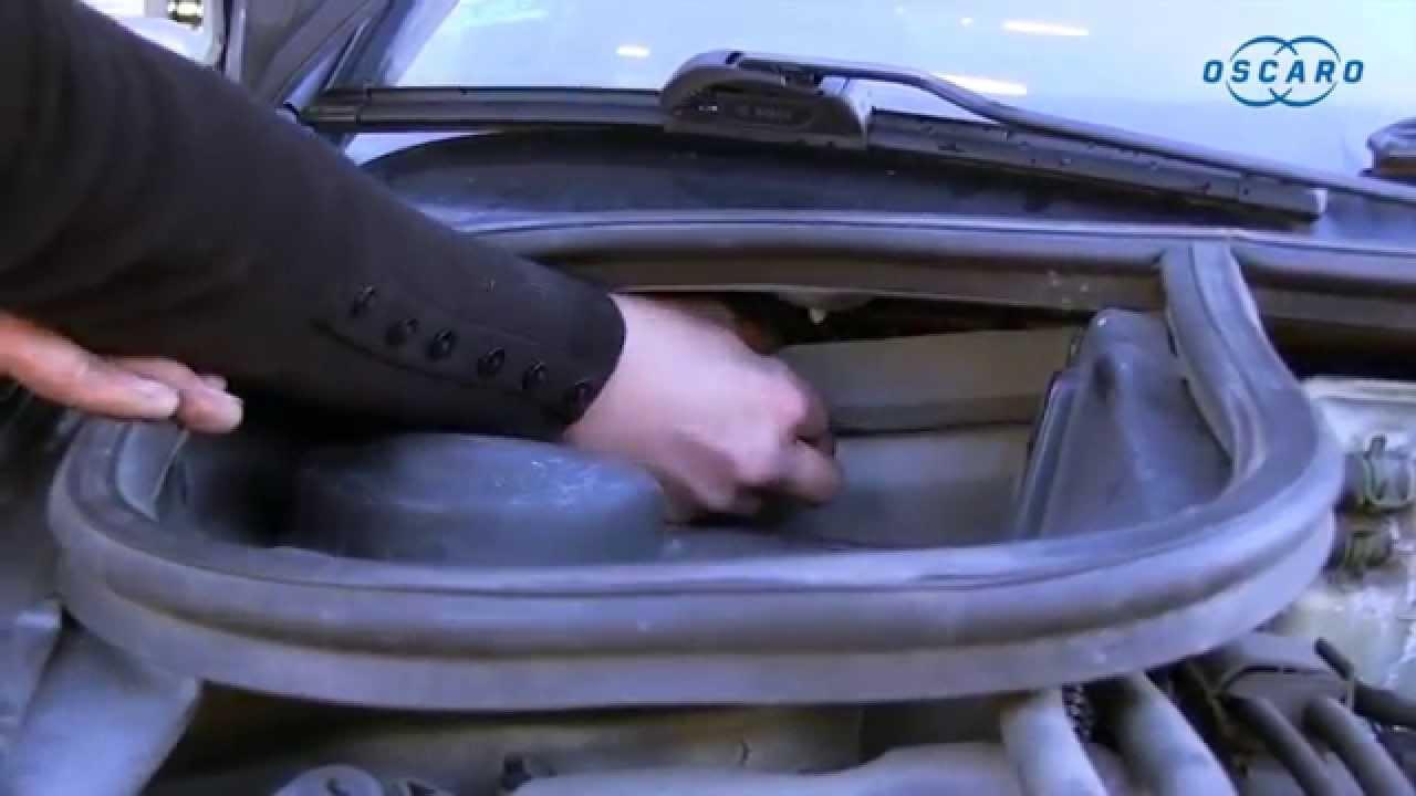 Ford El Paso >> Peugeot 206 - Cómo cambiar el filtro del habitáculo - YouTube