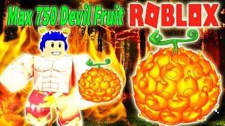 ROBLOX-Power Firepower ACE left demon MERA MERA NOMI MAX DEVIL 750 | Steve's One Piece