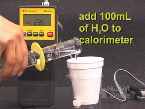 heat of fusion lab The purpose of this lab experiment is to measure the specific heat capacity of  unknown metal samples and also to determine the latent heat of fusion of water.
