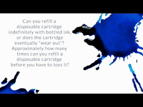 How Many Times Can You Refill A Disposable Cartridge Before You Have To Toss It? - Q&A Slices