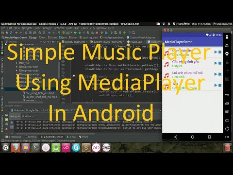 Create A Simple Music Player Using MediaPlayer In Android