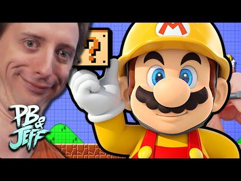 Super Mario Maker GHOST RIDE - PROJARED LEVEL!