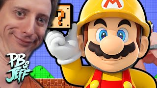 Super Mario Maker GHOST RIDE - PROJARED LEVEL!