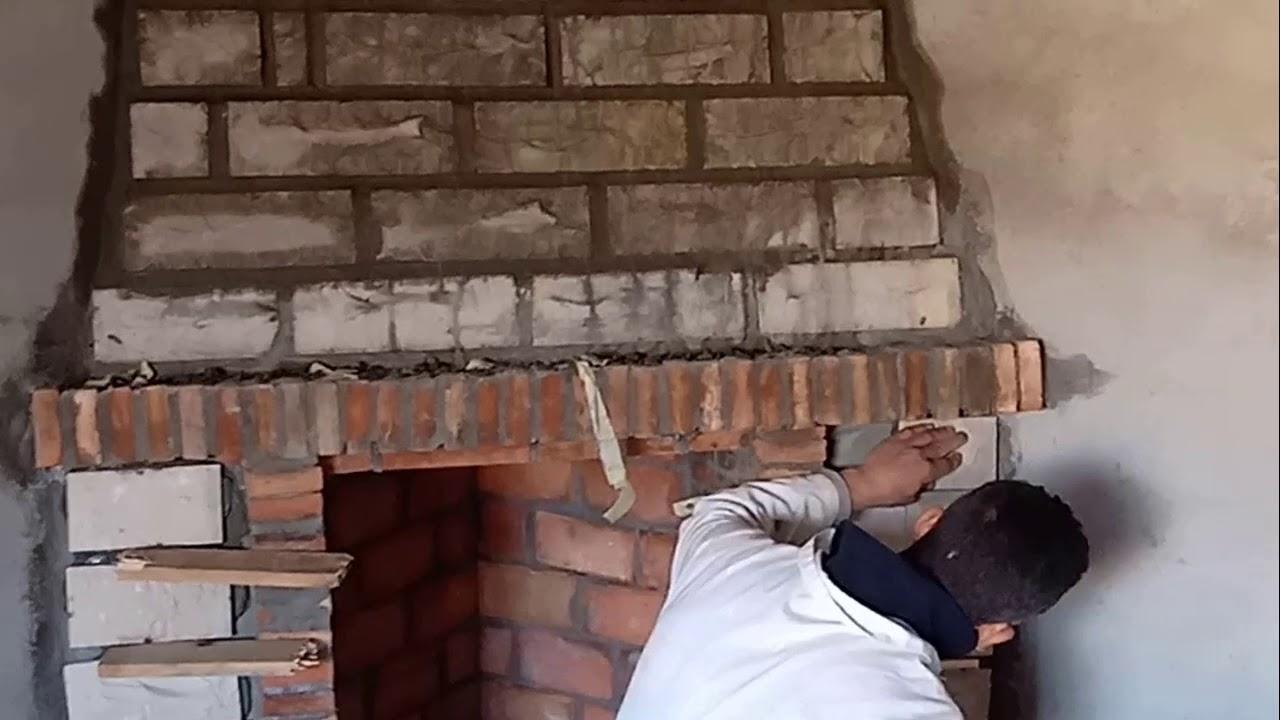Conduit De Cheminee En Brique Rouge construction cheminée