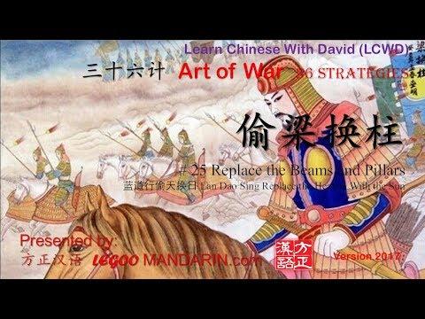 Art of War - 36 strategies - 25 偷梁换柱 Replace the Beams with Pillars 蓝道行偷天换日