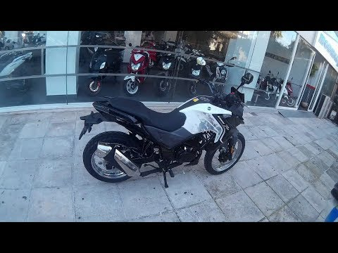 SYM NH-T 125 Adventure   Αληθινή μοτοσυκλέτα σε τιμή παπιού