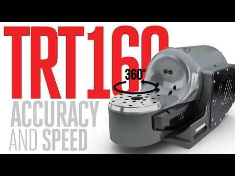 TRT160 | Tilting Rotary | 5-Axis Rotaries | Rotaries and Indexers