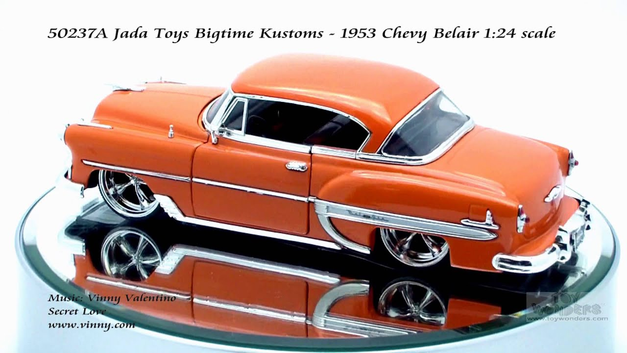 Toys From 1953 : A jada toys bigtime kustoms chevy belair