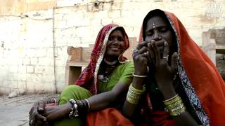 Jaw Harp player in Jaisalmer (Rajasthan, India) HD