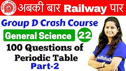 12:00 PM - Group D Crash Course | GS by Shipra Ma'am | Day#22 | 100 Questions of Periodic Table