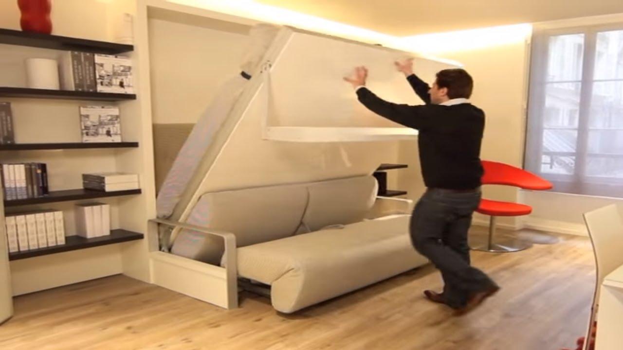 armoire lit escamotable ito bimodal par la maison convertible