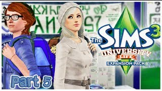 Let's Play: The Sims 3 University - {Part 5} Social Media