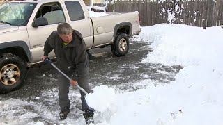 'My body is sore': Some areas of Massachusetts see over 2 feet of snow