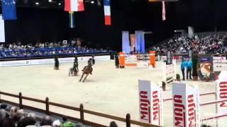 14 02 2016 Offenburg Salvador Großer Preis 1,55 m  Stechen 0