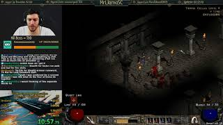 Diablo 2 - INSIDE THE MIND OF A SPEEDRUNNER - Learn how I think!