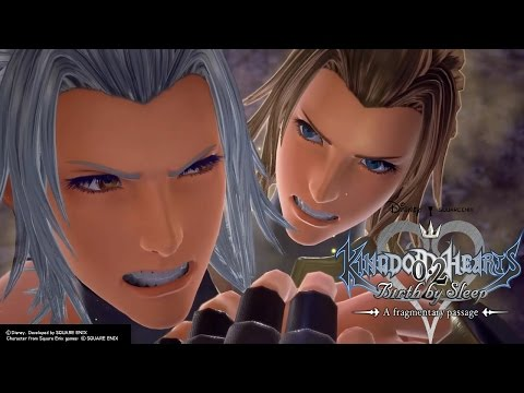 Terra-Xehanort Cutscene | Kingdom Hearts 0.2 Birth By Sleep - A Fragmentary Passage