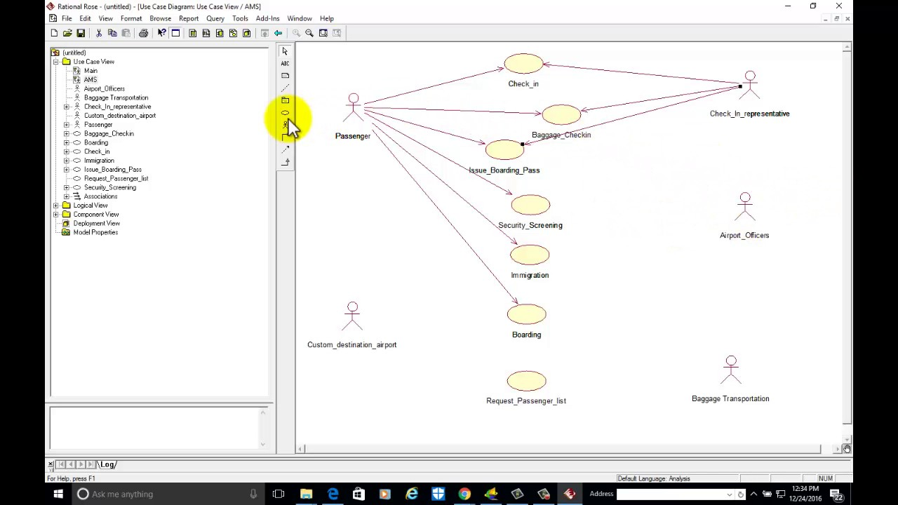 2 use case diagram for airport management system youtube 2 use case diagram for airport management system ccuart Images