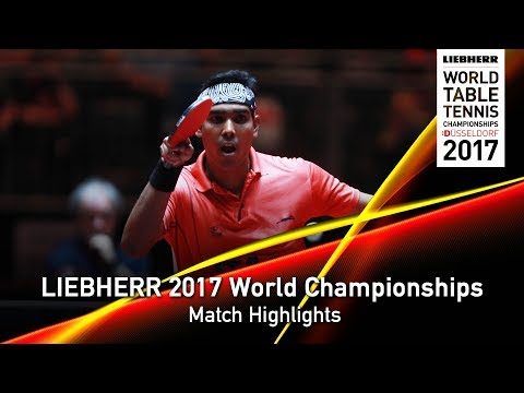 2017 World Championships Highlights I Lin Gaoyuan vs Achanta Sharath Kamal (Round 3)