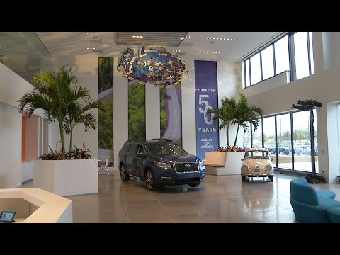 Subaru of America unveils new Camden HQ