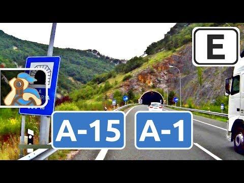 España. A-15, A-1, GI-11, GI-20. ✕ A-21 - Donostia / San Sebastián