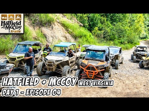 Getting lost on the trail & an underground coal fire - Hatfield McCoy  - Day 1 - Episode 04 #TeamAJP