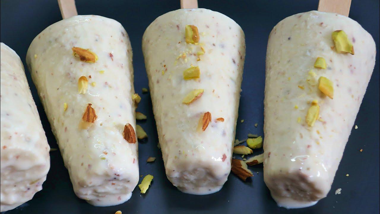 Download ఇంట్లో ఉన్నవాటితోనే సాఫ్ట్ కుల్ఫీ👌😋| Kulfi Ice Cream | Homemade malai kulfi | Ice Cream In Telugu