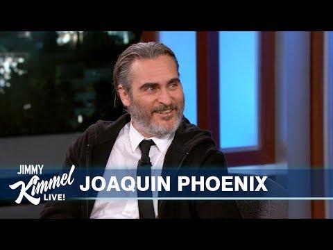 Joaquin Phoenix Discusses 'Joker'