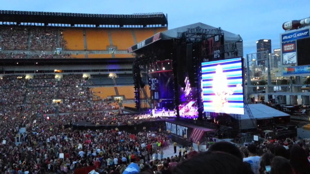 Taylor Swift Pittsburgh 2013 Red Tour Youtube
