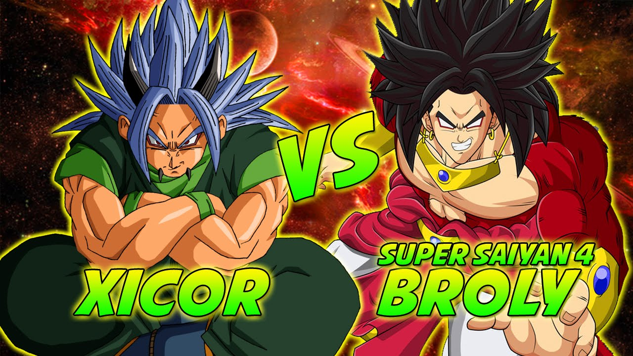Dragon Ball Z: What-If Battle: Super Saiyan 4 Broly Vs ...