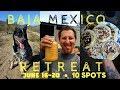 PLANTRIOTIC RETREAT BAJA MEXICO    Vegan Yoga Animals Permaculture