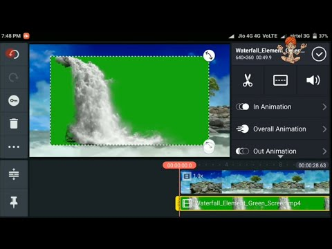 Unlimited video leyar in Kinemaster vfx video editing