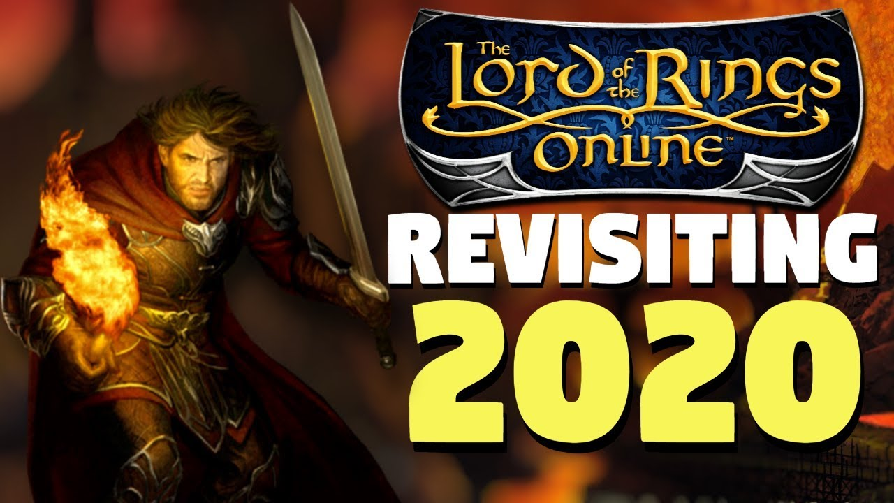 Revisiting The Lord Of The Rings Online In 2020 Lotro Mmorpg Youtube