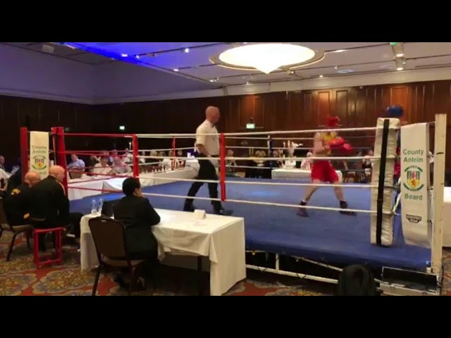 2018 County Antrim Belfast Boxing Classic - Fight 7