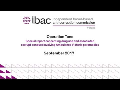 IBAC's Operation Tone investigation