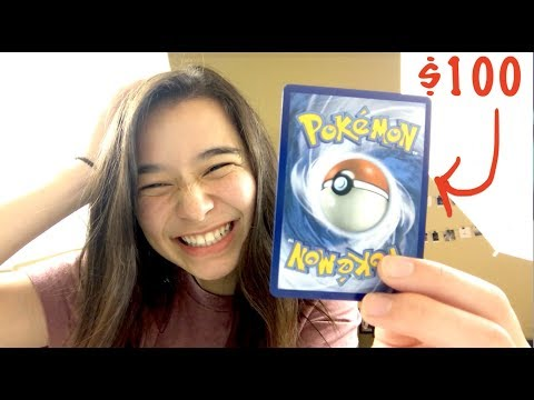 I JUST PULLED A $100 POKEMON CARD...