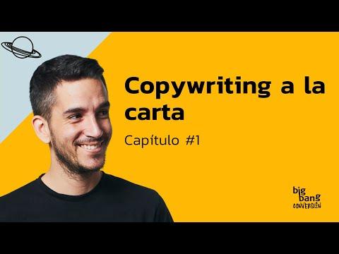 Copywriting a la carta - Capítulo I