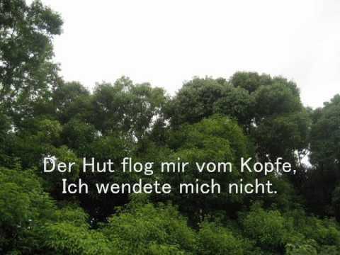 Der Lindenbaum by Franz Schubert, Voice YK with karaoke accompaniment