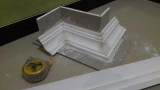Gambar cover Cara memotong sudut list gypsum.ke luar&dalam