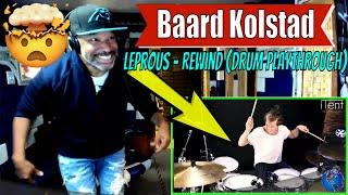 Baard Kolstad - Leprous - Rewind (Drum Playthrough) - Producer Reaction