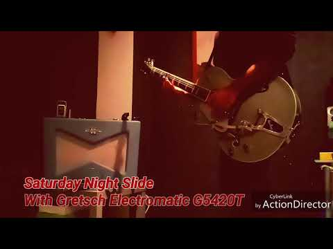 Gretsch Electromatic G5420T, OD Glove and Fender Vaporizer