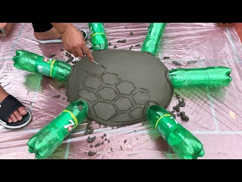 DIY - CEMENT LIFE HACKS - Make The Garden beautiful and lively