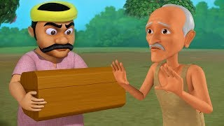 Gold Smith and the Miser - What I Desire | Moral stories for Kids | Infobells