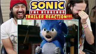 SONIC THE HEDGEHOG (2019) - Official TRAILER REACTION!!!